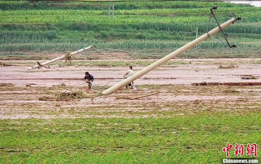 四川省喜徳県 洪水で10万人以上が被災 -- pekinshuho