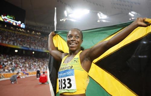 8月21日)陸上女子200m、ジャマ...
