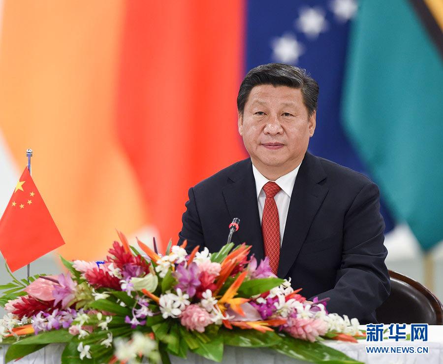 中国の習近平国家主席はフィジーのナンディで22日、フィジー、ミクロネシ... 習近平主席、太平洋